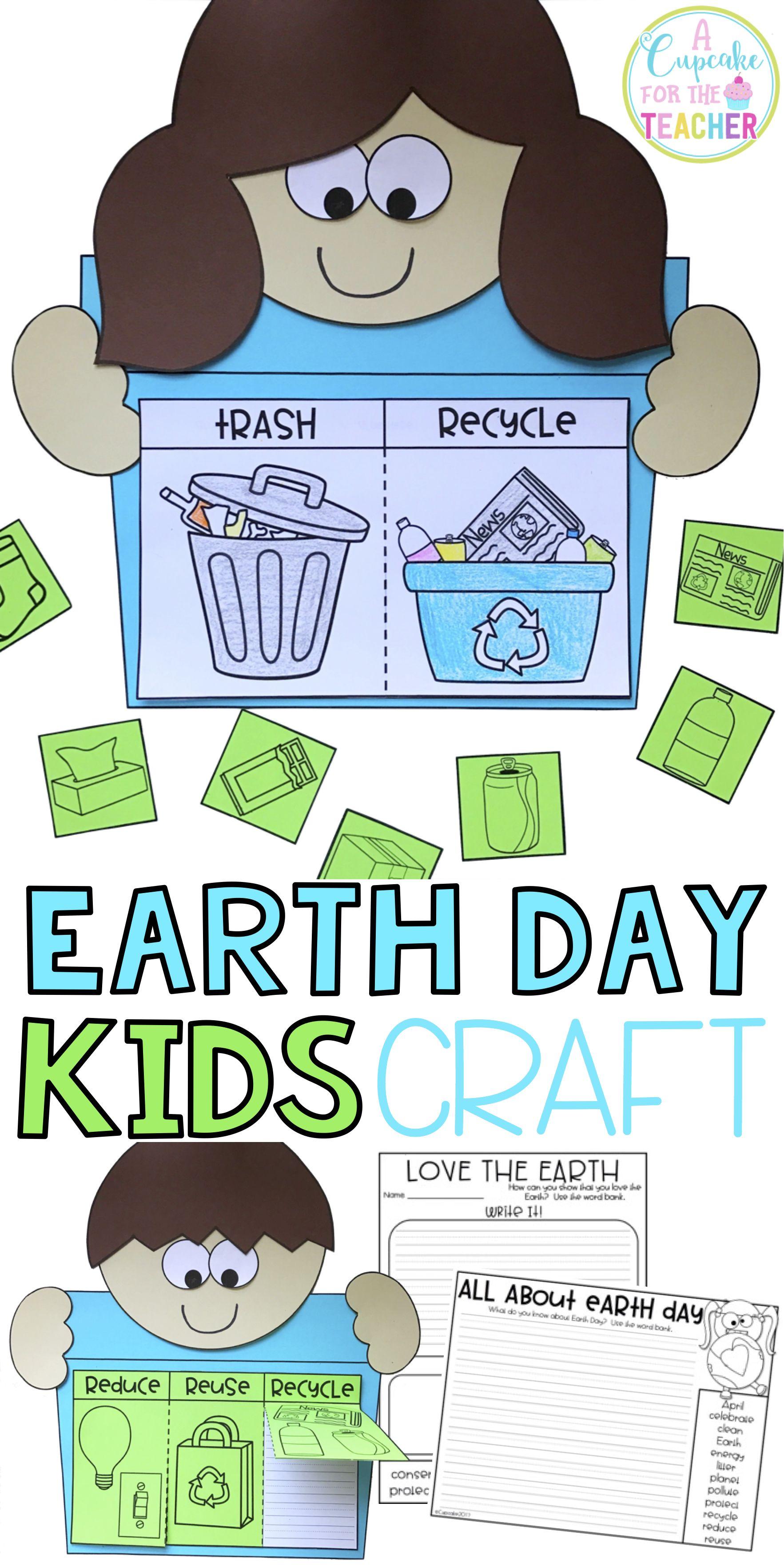 Earth Day Kids Craftivity Amp Printables