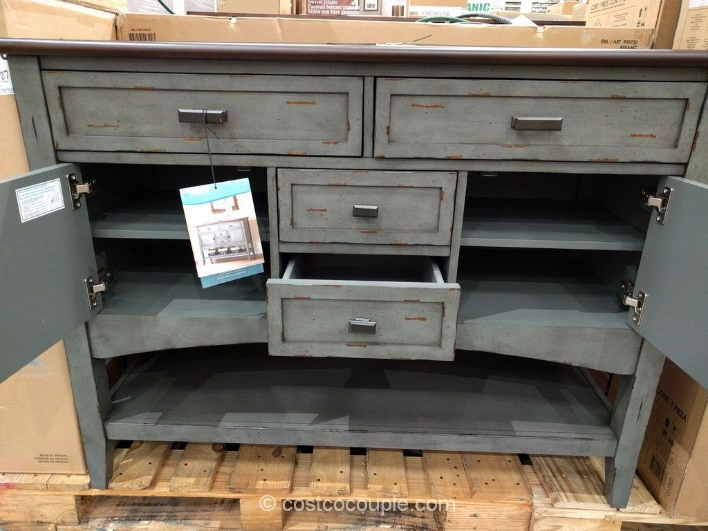 Bayside Furnishings Accent Cabinet Costco | House decorations ...