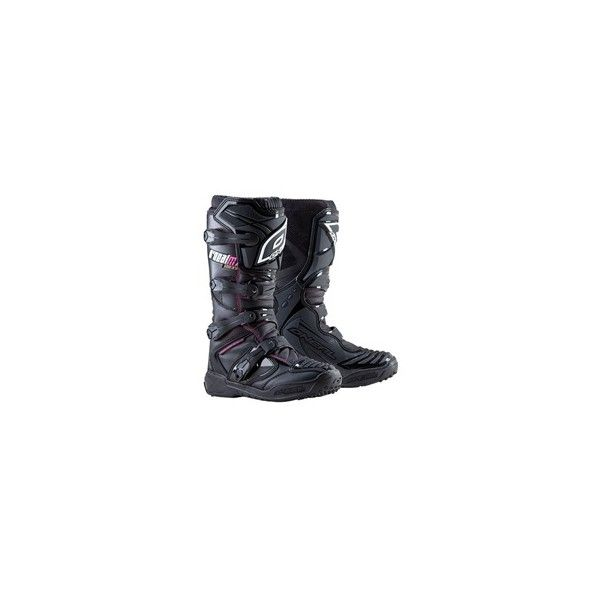 Oneal Element Boots (210 ARS) ❤ liked on Polyvore featuring shoes, boots and motocross