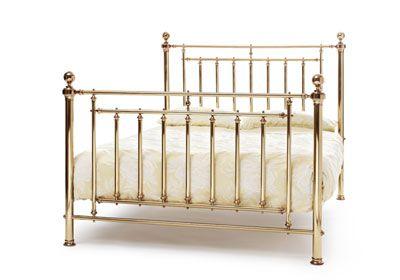 Serene Furnishings Solomon - Brass Bed Frame