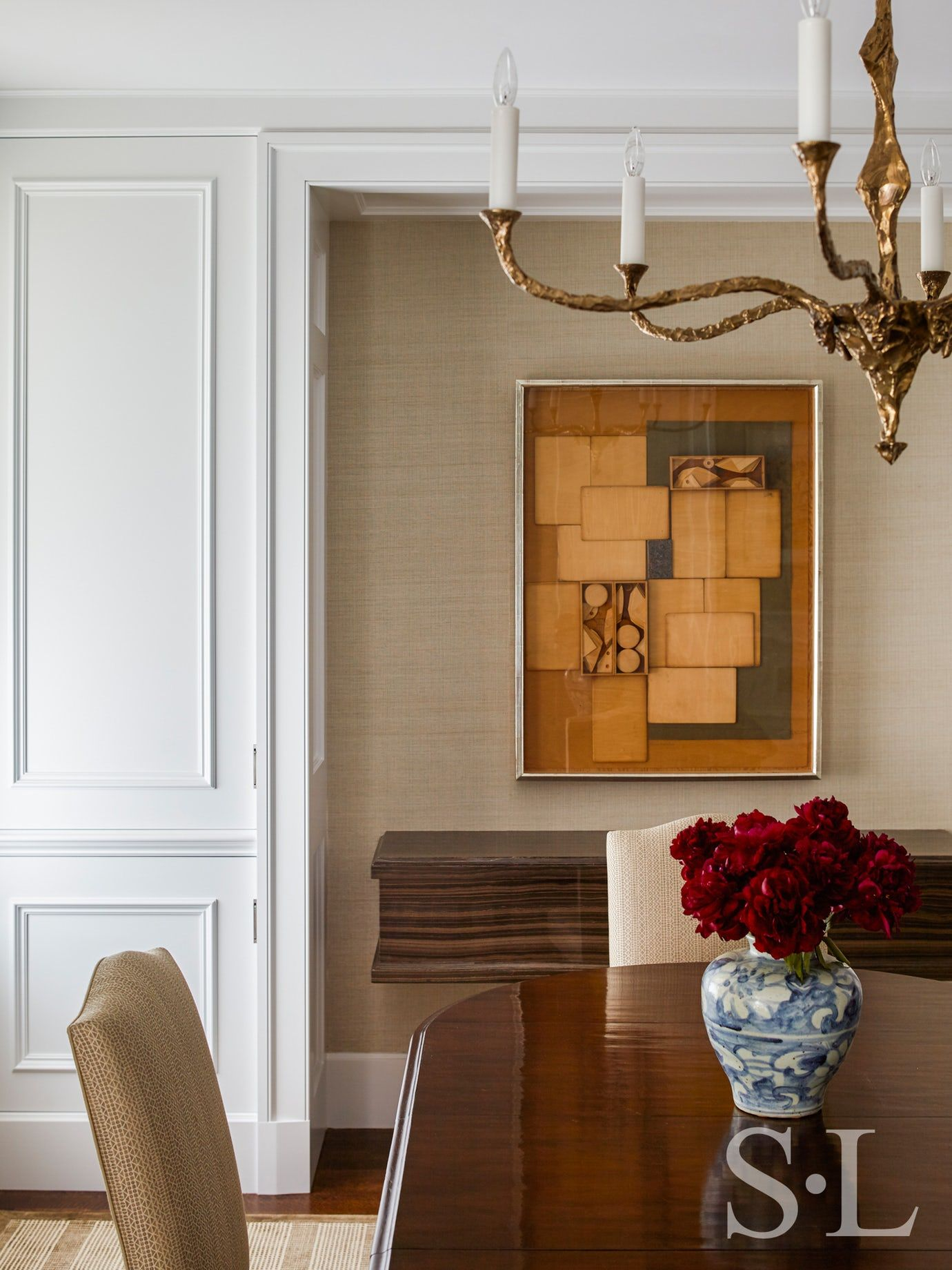 Luxury Showcase For Living Room Royal Art Deco: Gold Coast Penthouse Dining Contemporary Modern By Suzanne