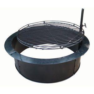 Fire Sense 33 5 In Stone Fire Pit Insert W Swing Out Grill By Fire Sense At Fleet Farm Fire Pit Insert Fire Pit Grill Fire Pit