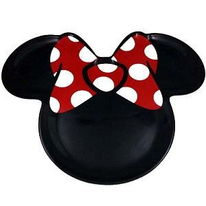 Disney Plastic Plate - Minnie Mouse