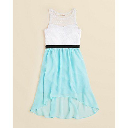 Sally Miller Girls Sleeveless 2-Tone Dress - Size ($68) #sallymiller
