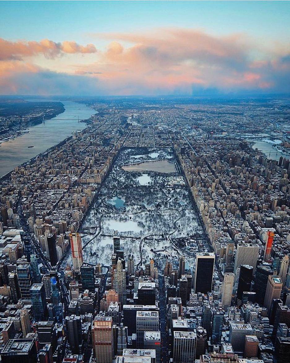 Manhattan To New York City: Manhattan, Birds View By @linxspiration