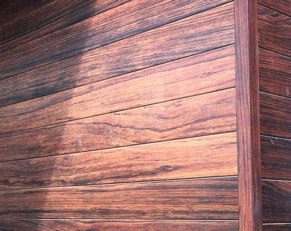 Faux Wood Vinyl Siding