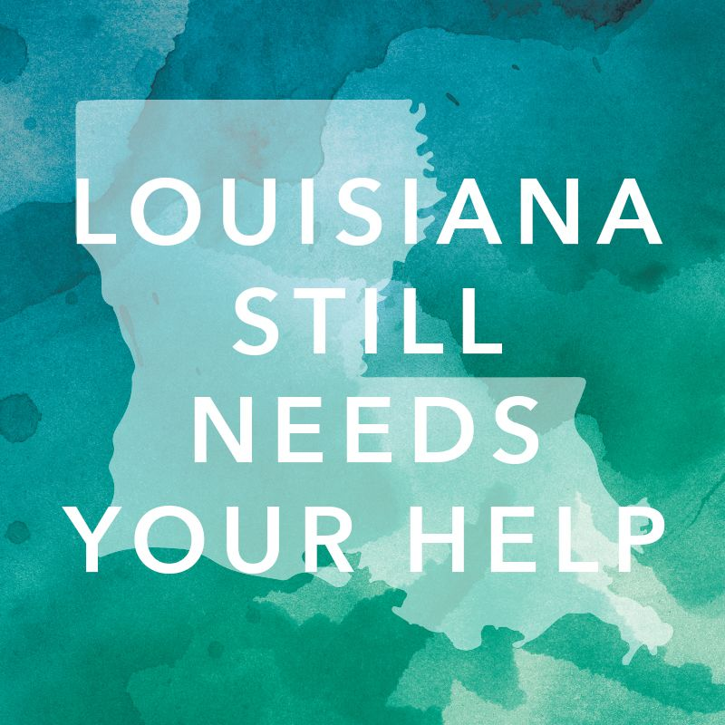 DON'T FORGET TO DONATE!! Louisiana still needs our help recovering from the catastrophic flooding they recently experienced! We've partnered with Bethany Church in Louisiana to allow our customers to make donations, which will go directly toward flood relief efforts throughout the area. Please visit our website or your local store to make a donation TODAY!