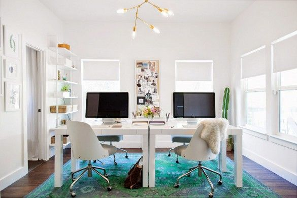 11 Designer Tips For A Stylish Office Space You Want To Work In