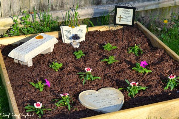How To Make Your Own Memorial Garden On A Budget 400 x 300
