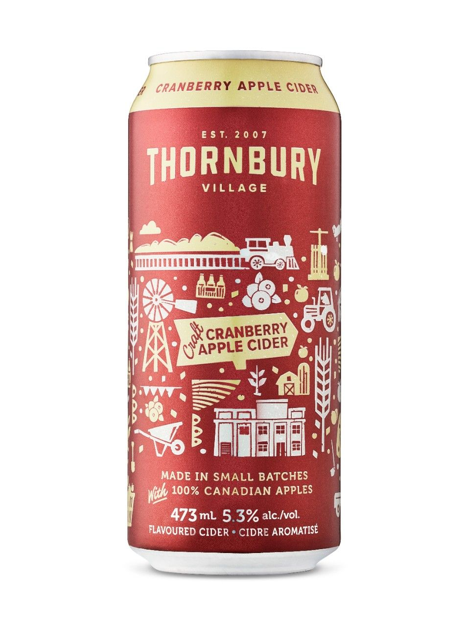 Image For Thornbury Craft Cranberry Cider From Lcbo Cranberry Cider Cider Cider Making