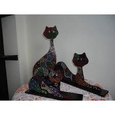 Resultado de imagen para gatos en puntillismo