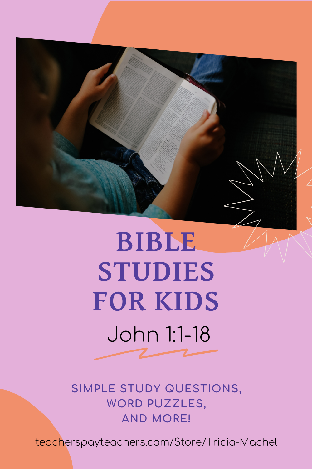 Bible Studies For Kids John 1 1 18 Bible Study For Kids Bible Study Personal Bible Study