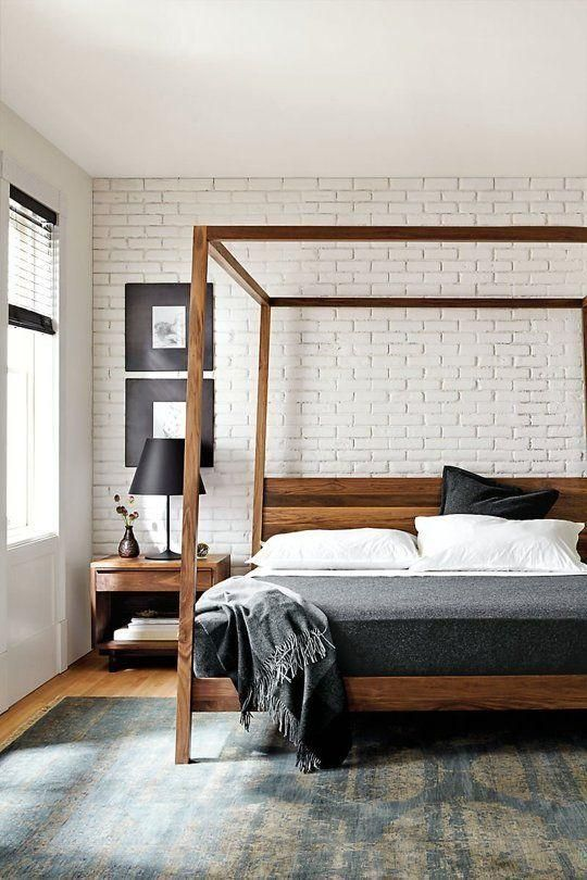 设计 金窝银窝不如自己的狗窝 50个房间设计让你默默决定该怎样upgrade你的的 狗窝 Modern Bedroom Furniture Home Decor Bedroom Modern Canopy Bed