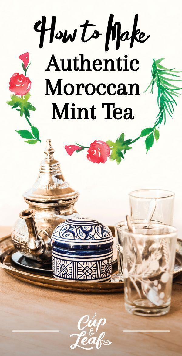 How to Make Moroccan Mint Tea  #mintea #greentea #moroccanminttea #minttearecipe #mint #tea