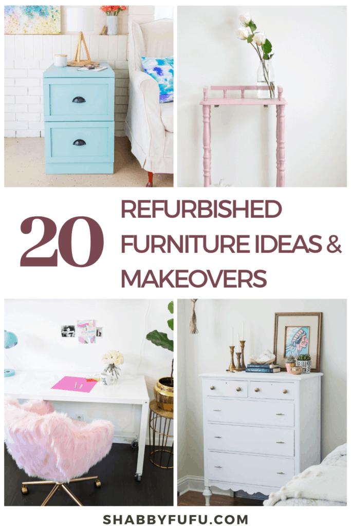 Diy Furniture Renovation, Refurbished Furniture Ideas