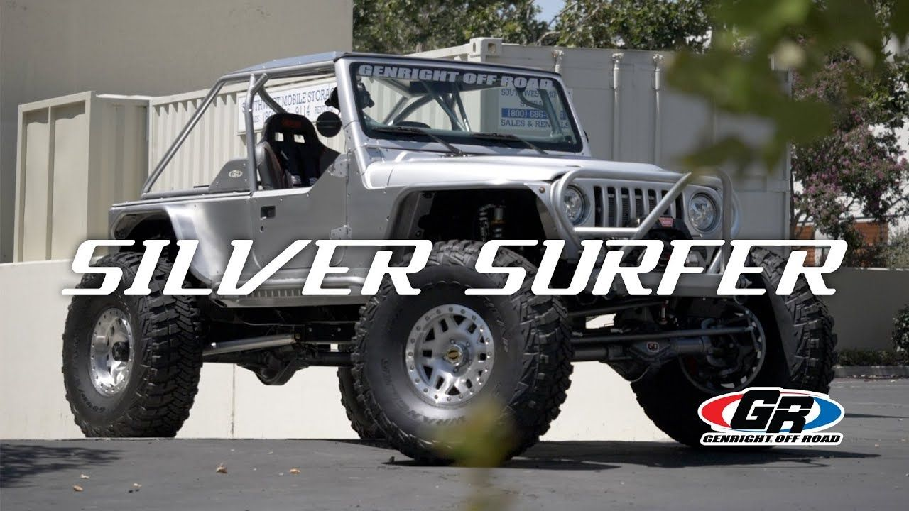 Silver Surfer Jeep LJ GenRight Off Road YouTube Jeep