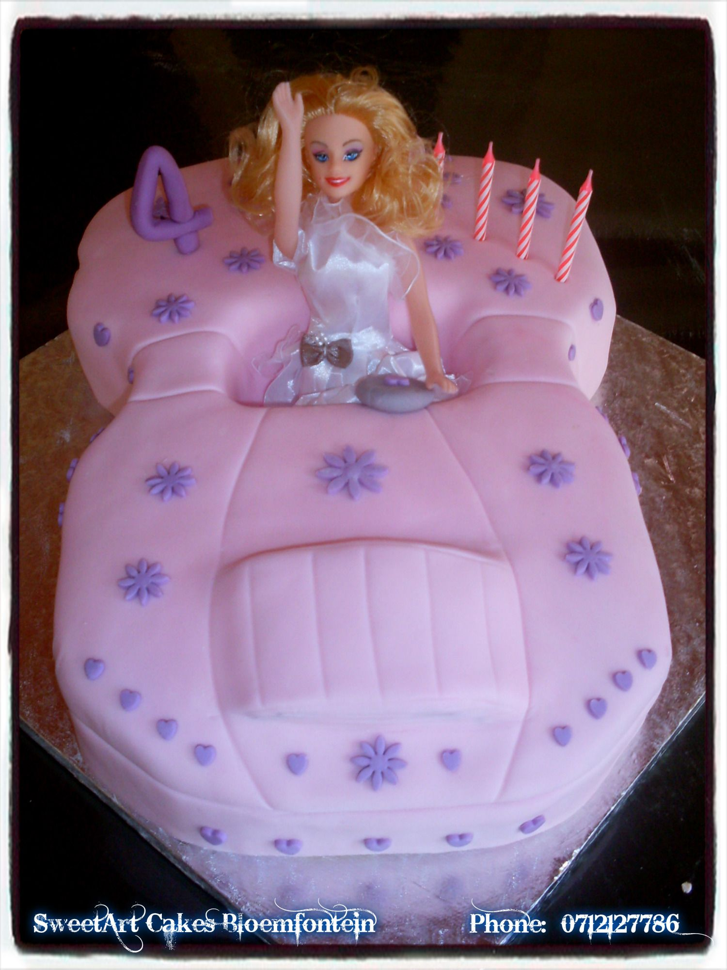 Barbie Car Cake For More Info Orders Email Sweetartbfngmail
