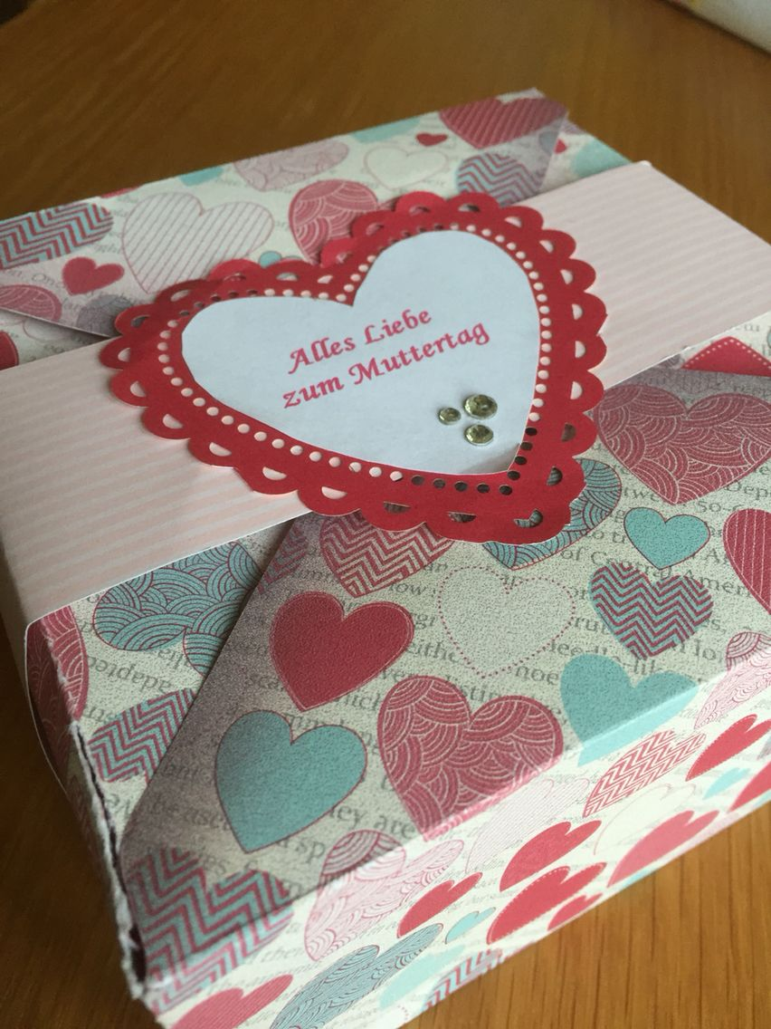 Basteln Muttertag eine packung voller süßigkeiten zum muttertag muttertag basteln