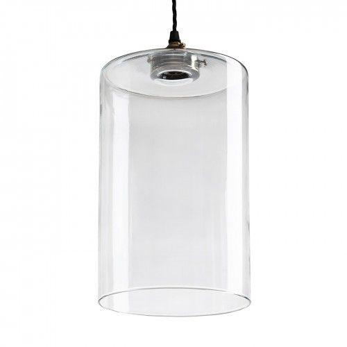 Glass Cylinder Pendant Glass Pendant Light Glass Lighting