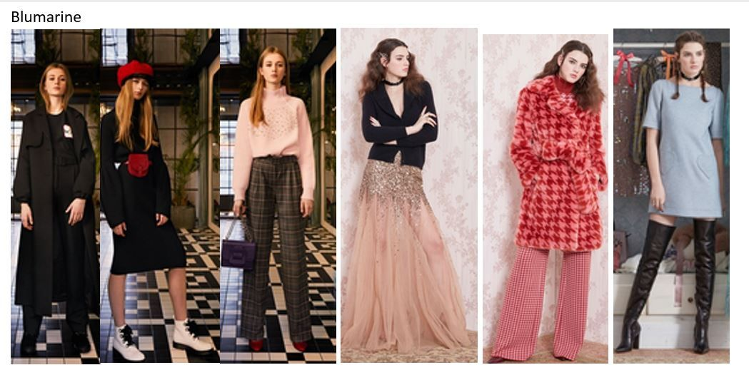 Blumarine My favourite outfits from preview of Fall Winter 2019/20