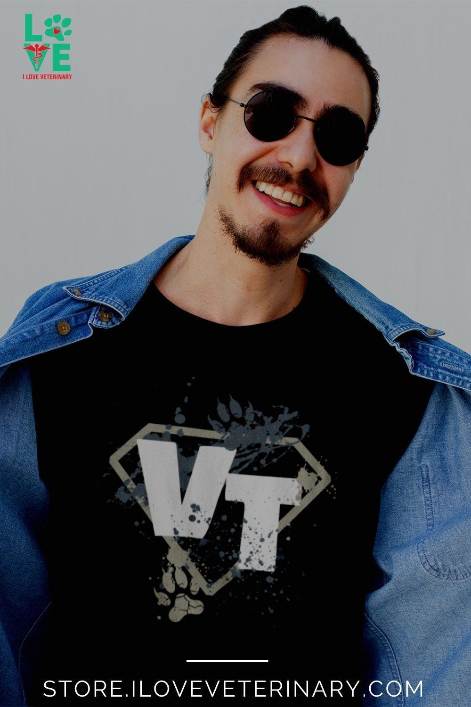 Vet Tech Superhero Unisex Tshirt in 2020 Vet tech, Vet
