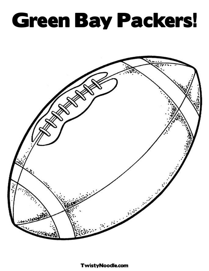 green bay packers coloring pages kids printable