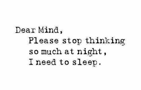 """68 Likes, 9 Comments - Mental Health (@mental_health_understanding) on Instagram: """"What is sleep again? 🙄what helps you guys sleep at night without your mind racing until stupid…"""""""