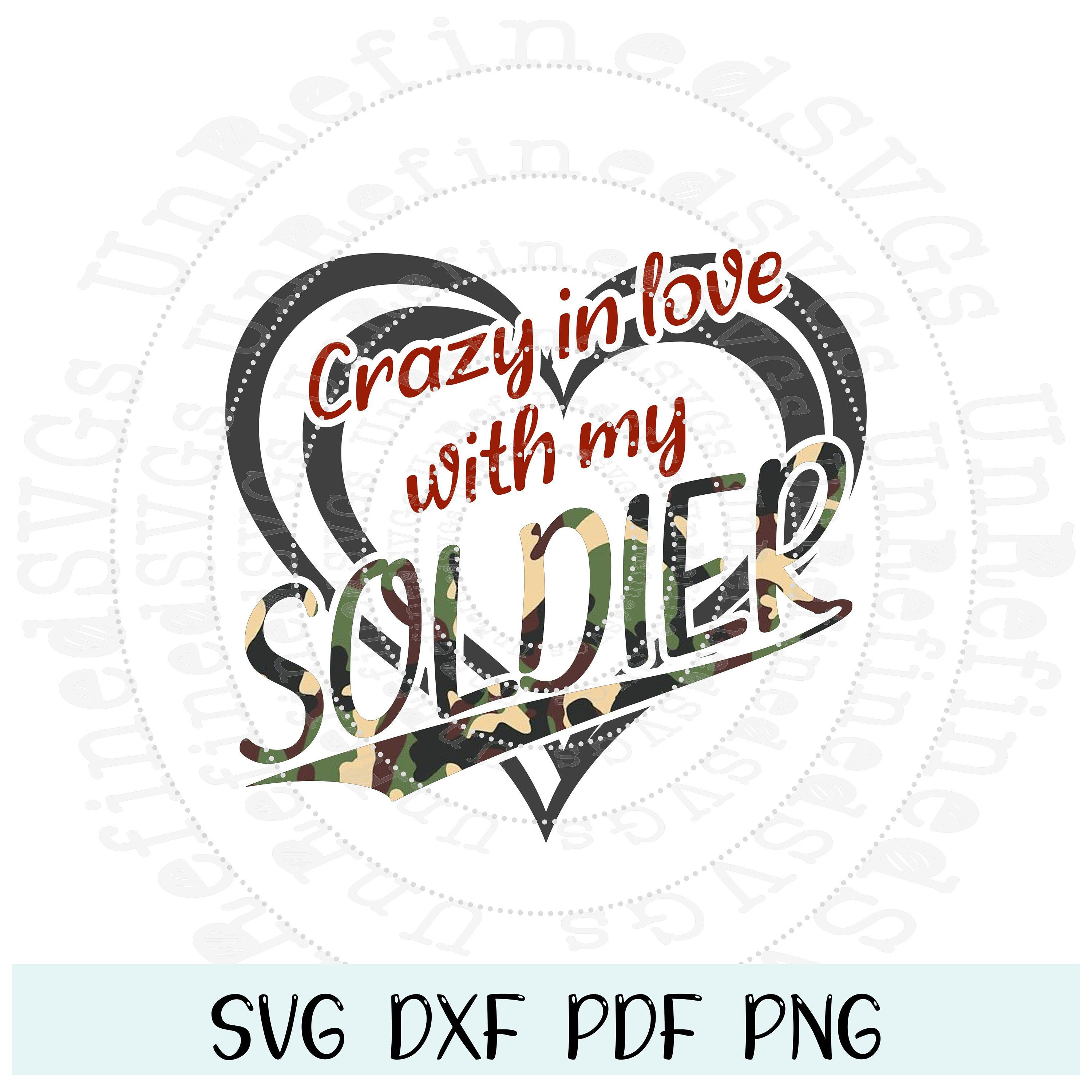 Download Love A Soldier SVG Military Spouse Veteran Spouse Soldiers ...