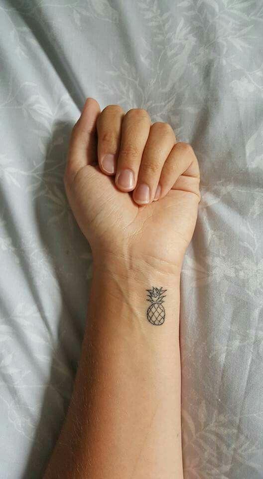 Mini Pineapple Tattoo Design Tattoos Tattoos Pineapple
