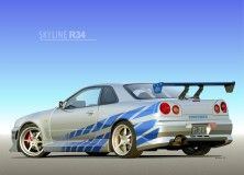 Nissan Skyline Gtr R34 Fast And Furious Wallpaper Best Design
