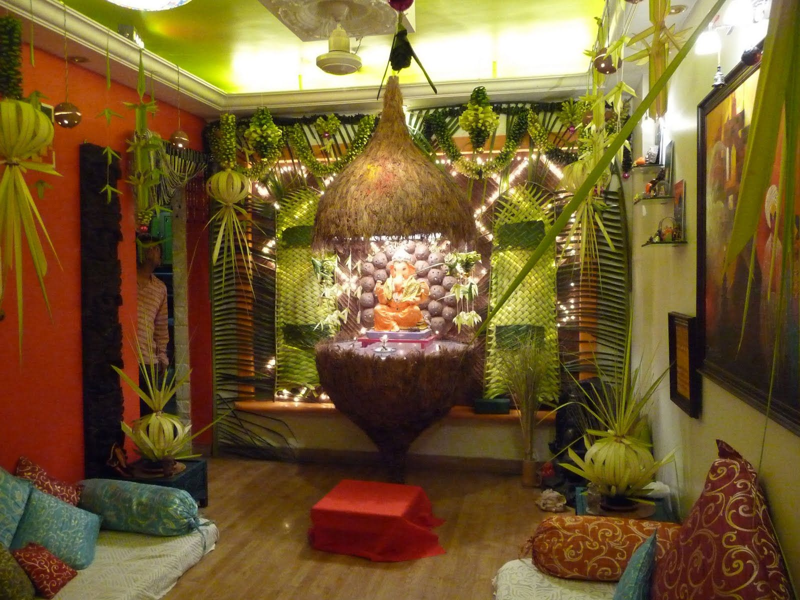 Ganesh Chaturthi Decoration Ideas For Home Decoration For