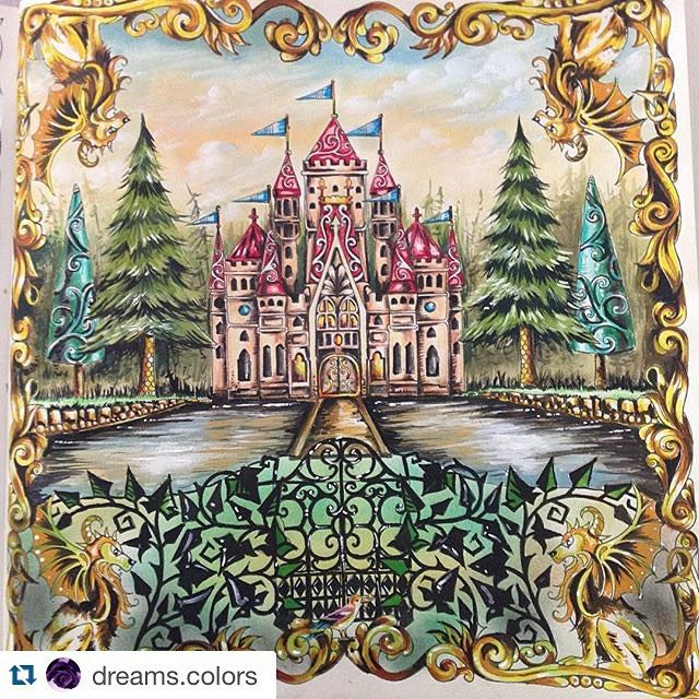 Enchanted Forest Coloring Book By Johanna
