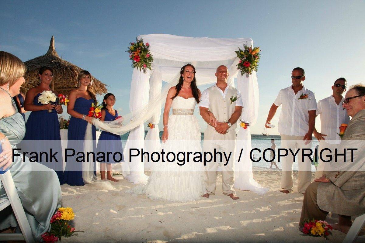 Aruba Wedding Photography At The Marriott My Name Is Frank Panaro And I Am A