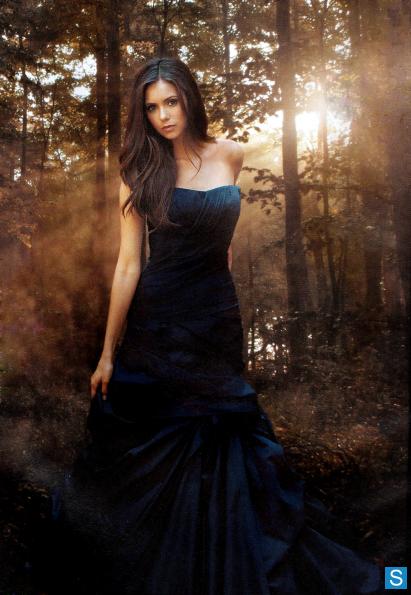 Tvd S2 Set1 Elena006 Cast Promotional Photos Nina Dobrev Vampire Diaries Elena Gilbert