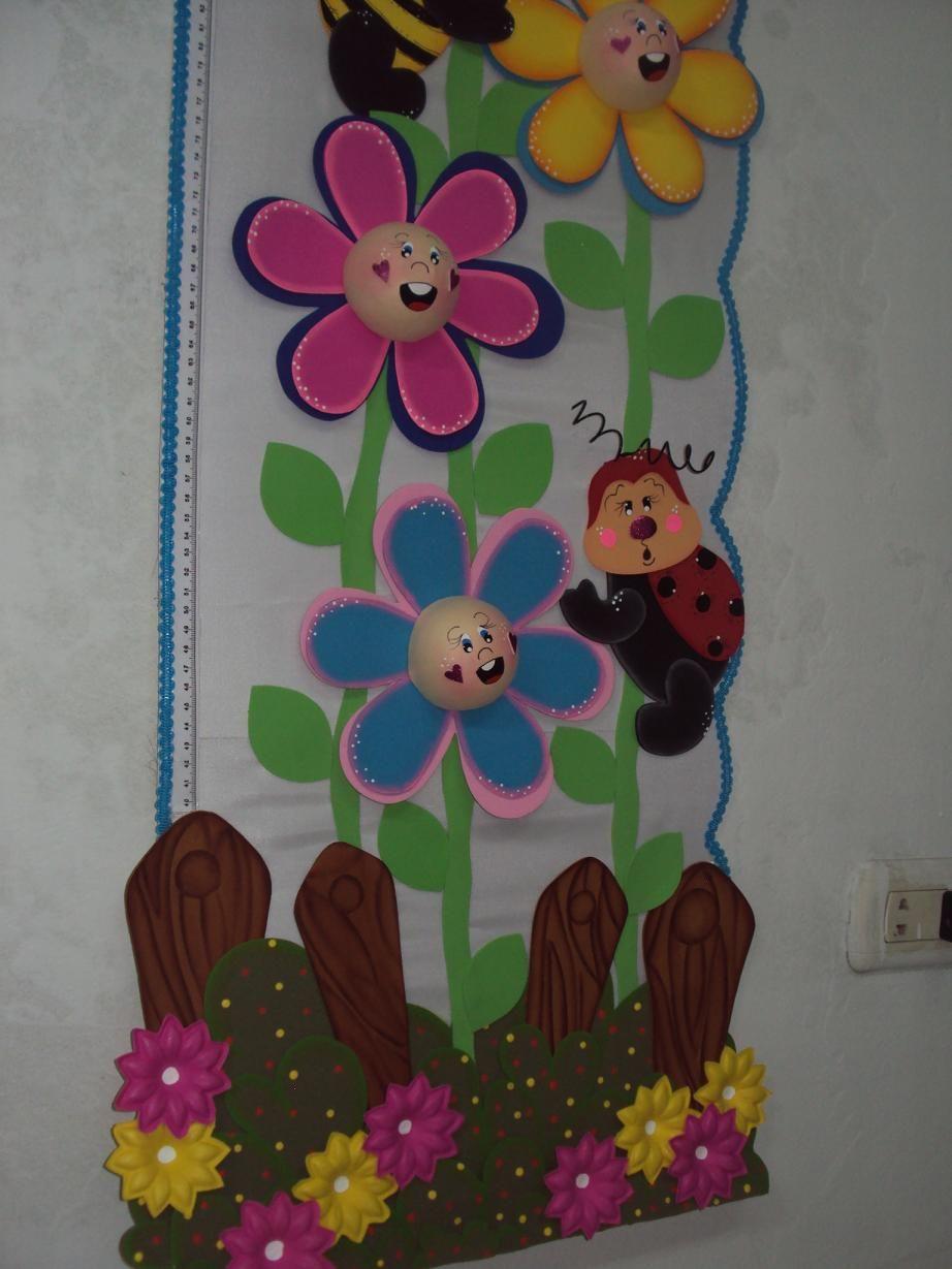 detalles de tallimetro | murales | Pinterest | Aula, Goma eva y Gomitas