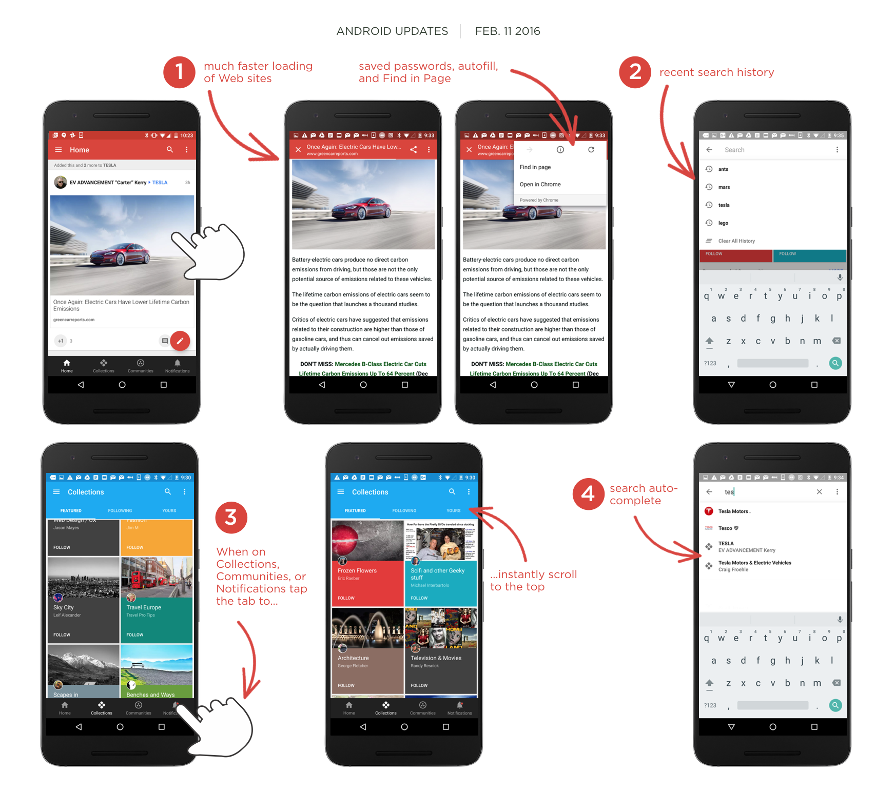 New much faster G+ Android Update 7.2.0 https//plus