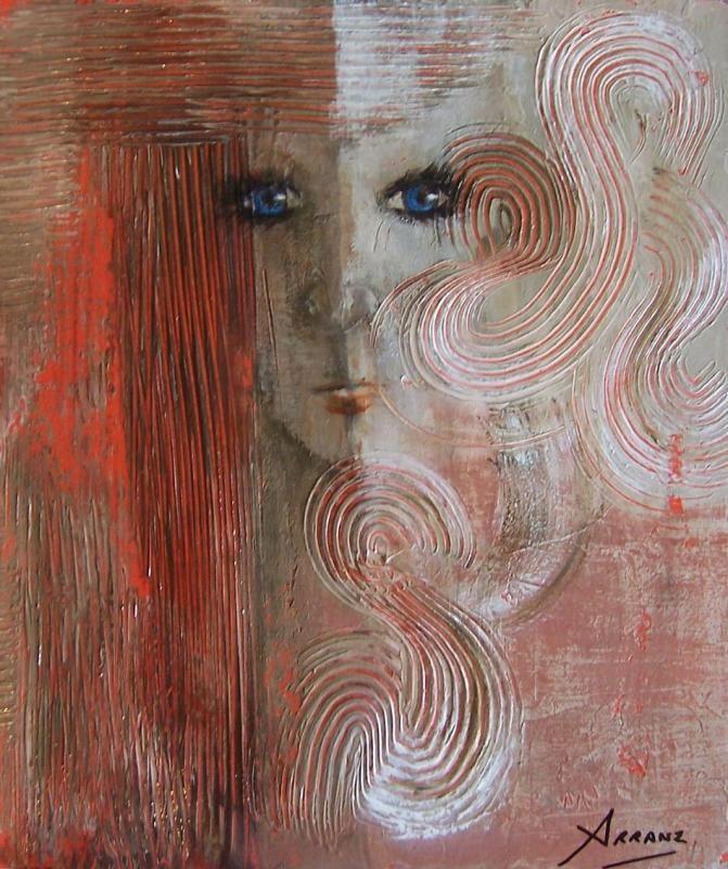 Reflejo asimétrico, Pilar Arranz