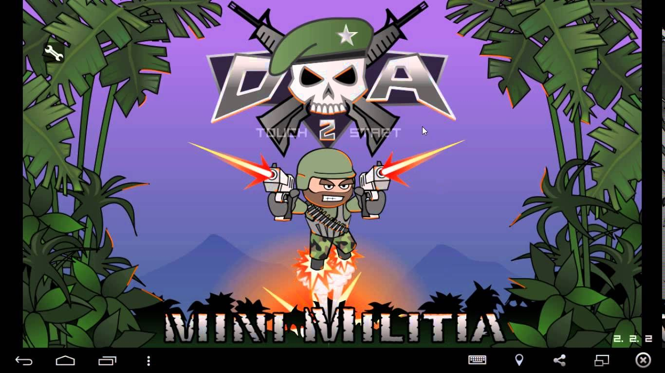 Image result for Mini Militia game