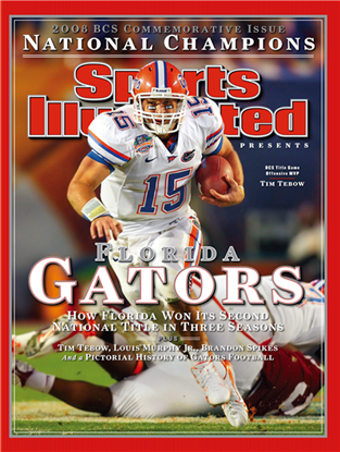 quality design 114c4 e5653 Tim Tebow of the Gators - Coming Back for More | Gators ...