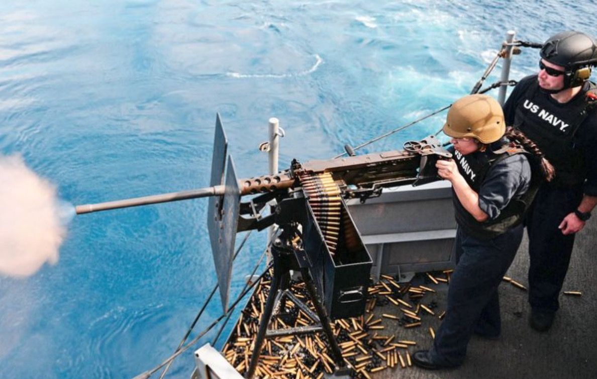 Back off us navy fires shots at iranian vessels us
