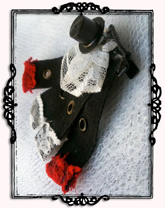 Top Hat & Caped Skull Crusader, Boy Bowne by ricBowne on Etsy $5.00
