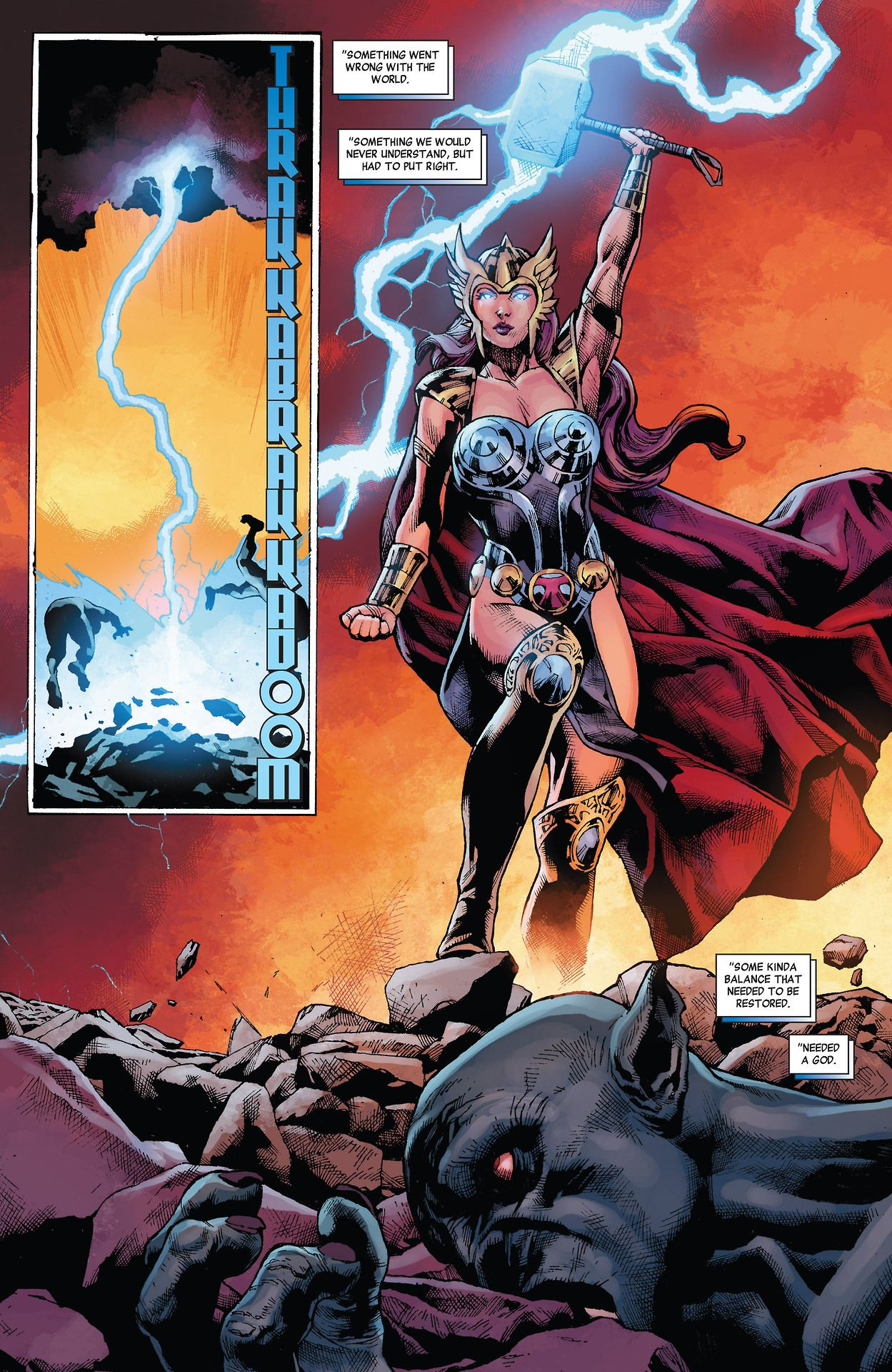 Natasha Romanoff Worthy of Lifting Mjolnir What If? Age of Ultron #3