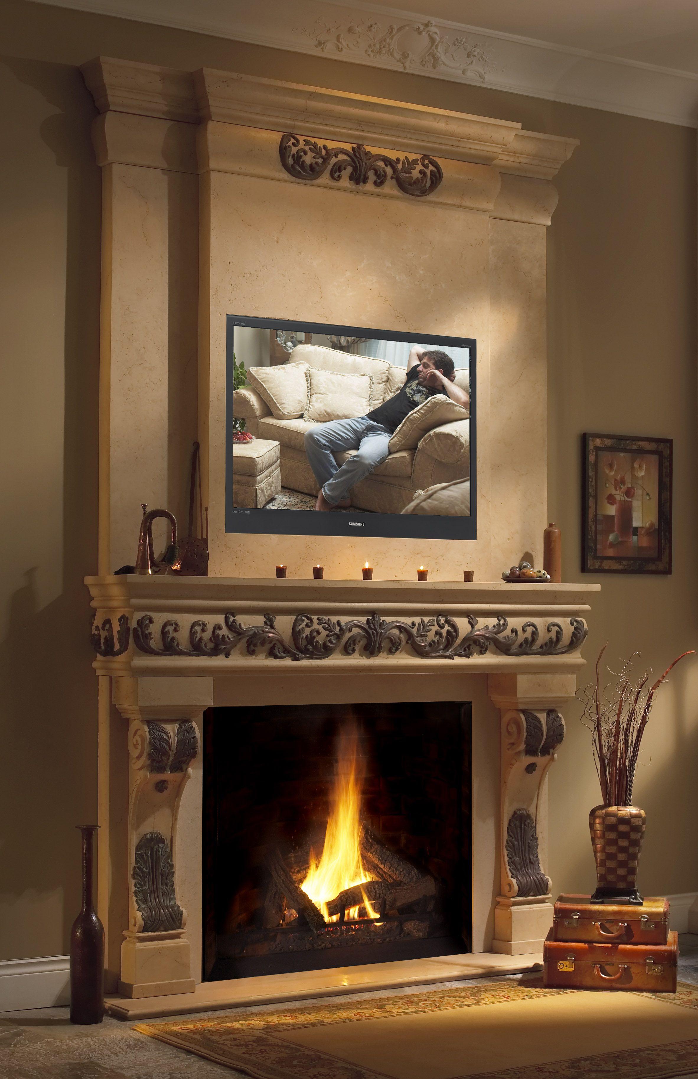 stone showroom omega toronto mantel mantels cast overmantel fireplace pin