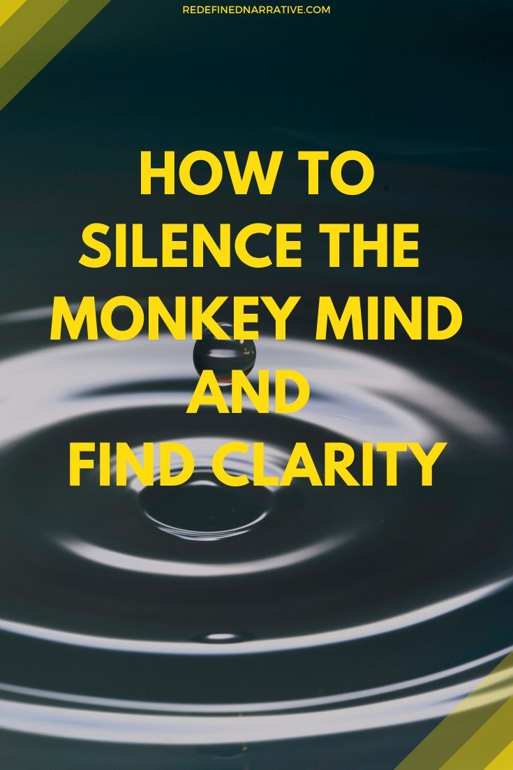 The mental chatter can be very disruptive and even dangerous. It can impact our mental health, our focus & productivity, & even the quality of our life. In this post, we discuss how o calm the monkey mind. Apart from meditation, there are other solutions discussed. Mental peace is important for a balanced, healthy life. #calm #mentalhealth #focus #productivity