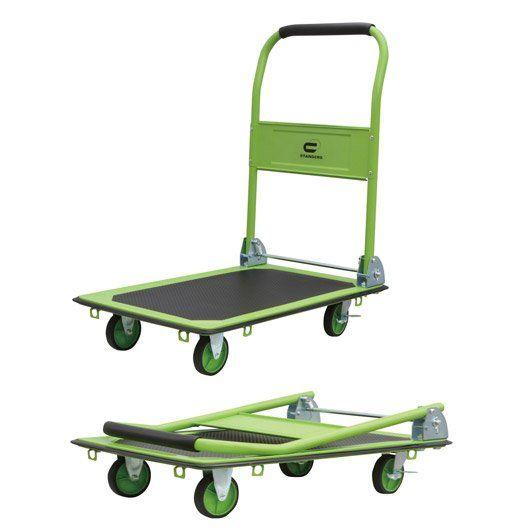 Chariot Pliable Standers Charge Garantie 150 Kg Chariot Pliable Demenagement