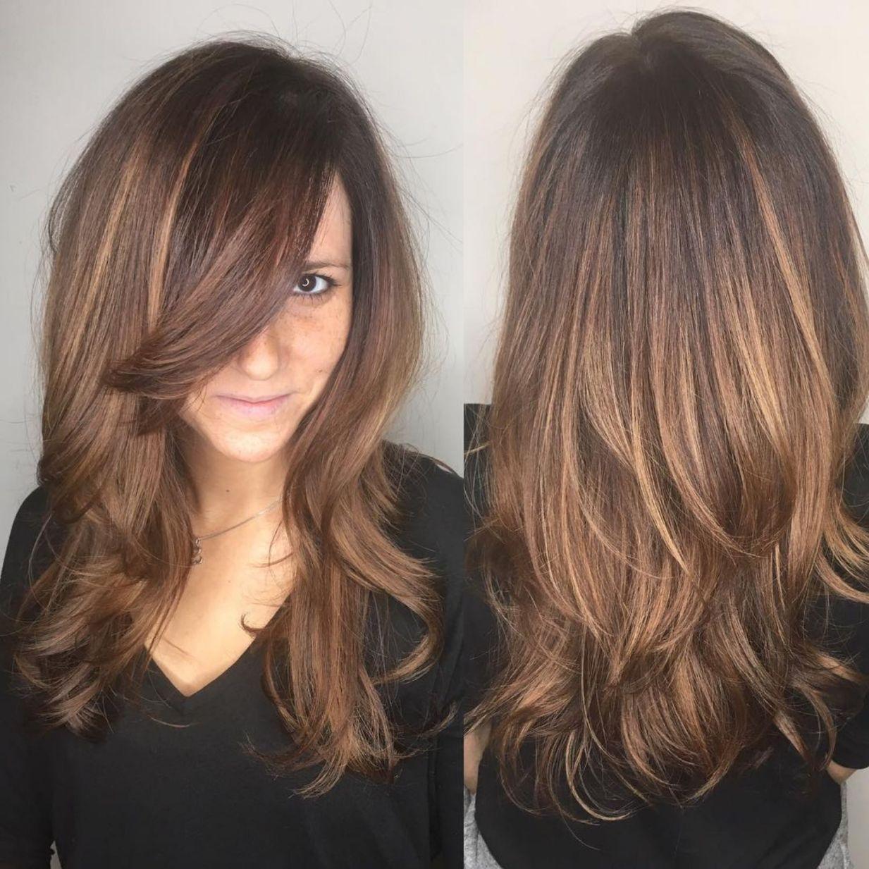 12 coupes de cheveux en couches mignonnes et sans effort avec une