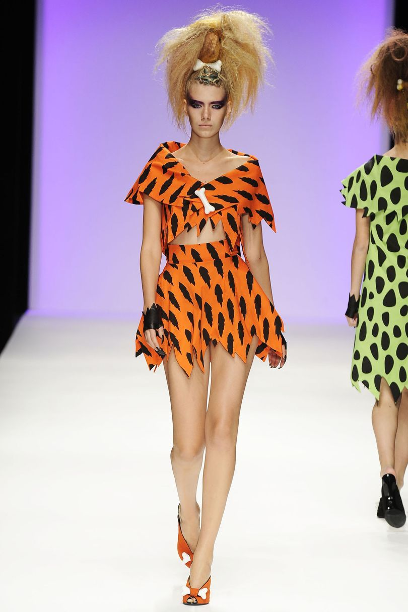 Jeremy Scott Spring/Summer 2010 Ready-To-Wear #pebblescostume