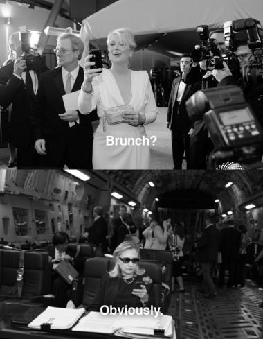 Meryl Streep on Texts from Hillary