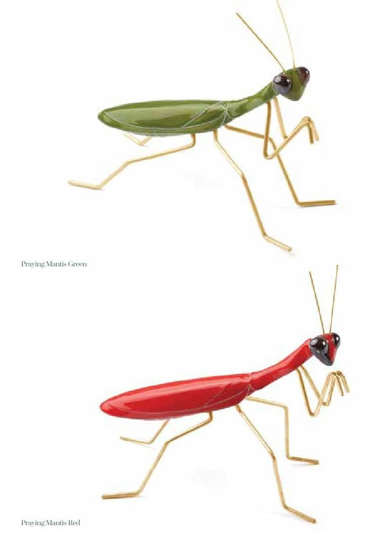 Mambo | Fantastic Cermic Insects  mambo-unlimitedideas.com