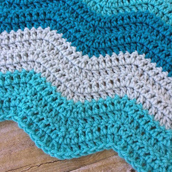 Crochet Baby Blanket - Baby Blanket Crochet - Baby Blanket Boy ...